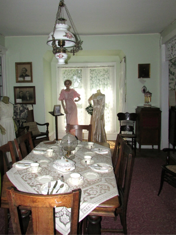 Westfield Museum Dining Room