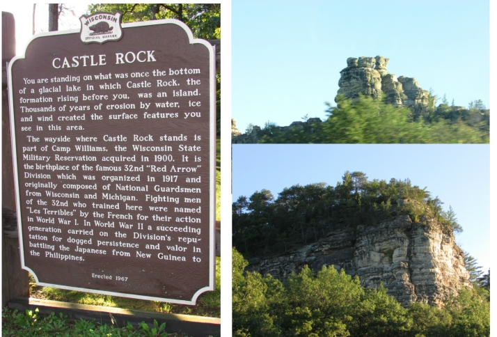 Castle Rock in Wisconsin