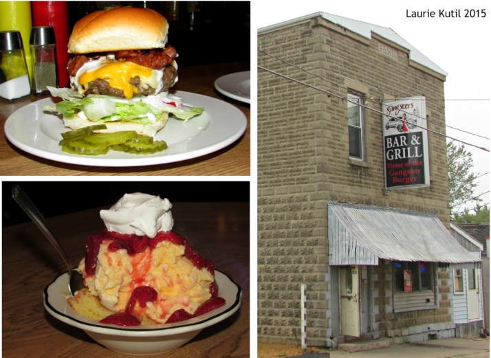 Gangsters Bar and Grill Collage