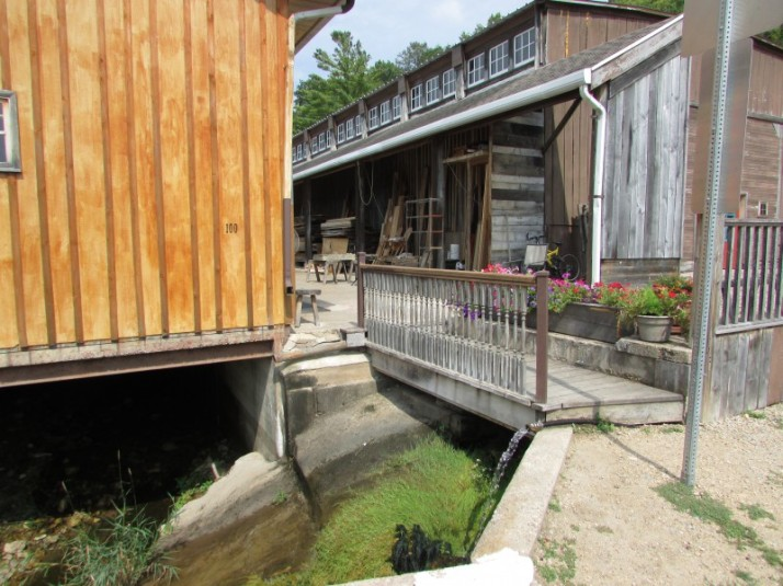Spring water in Potosi