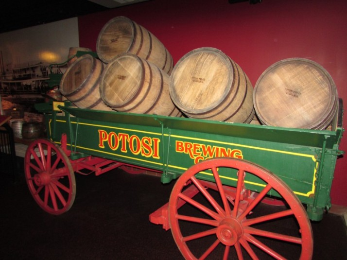 Potosi Brewing Co. Wagon