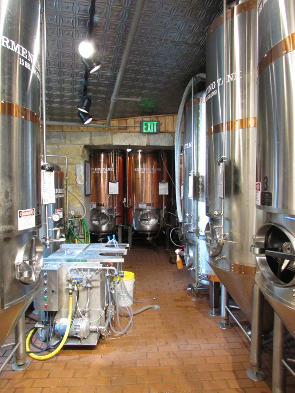 Beer Tanks in Potosi