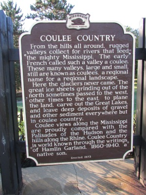 Coulee Country marker