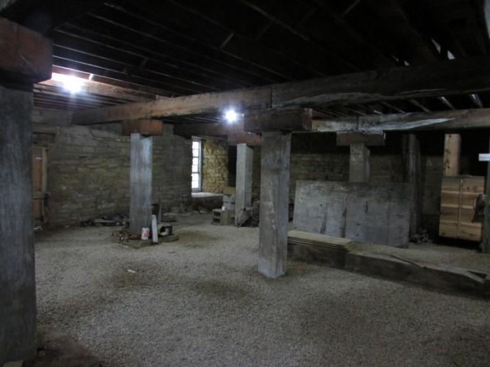 Lowest floor of Pickwick Mill