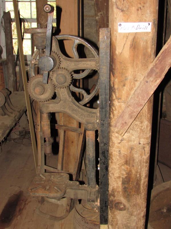 Post drill at Pickwick Mill