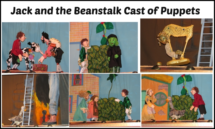 Jack and the Beanstalk Cast of Puppets