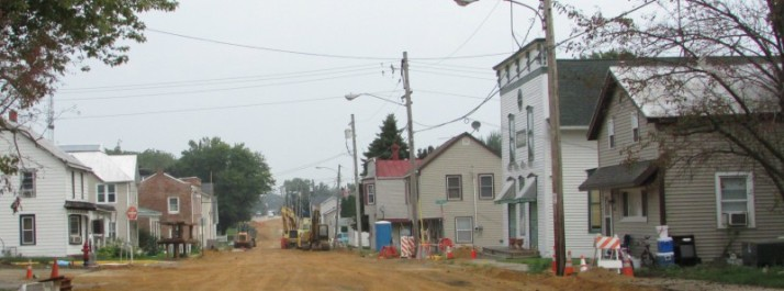 Main Street in Hazel Green