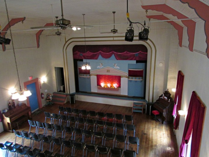 Opera House Stage from balcony