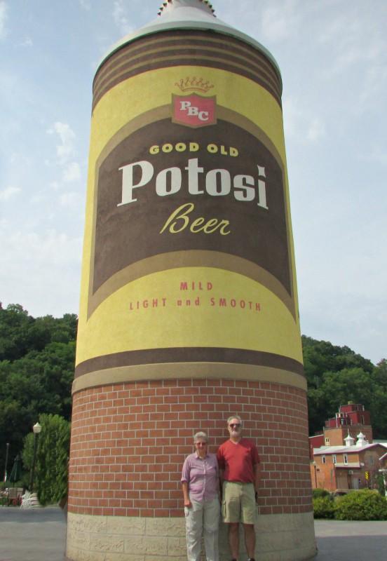 Potosi Beer selfie