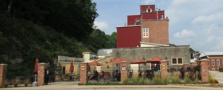 Potosi Brewery Patio