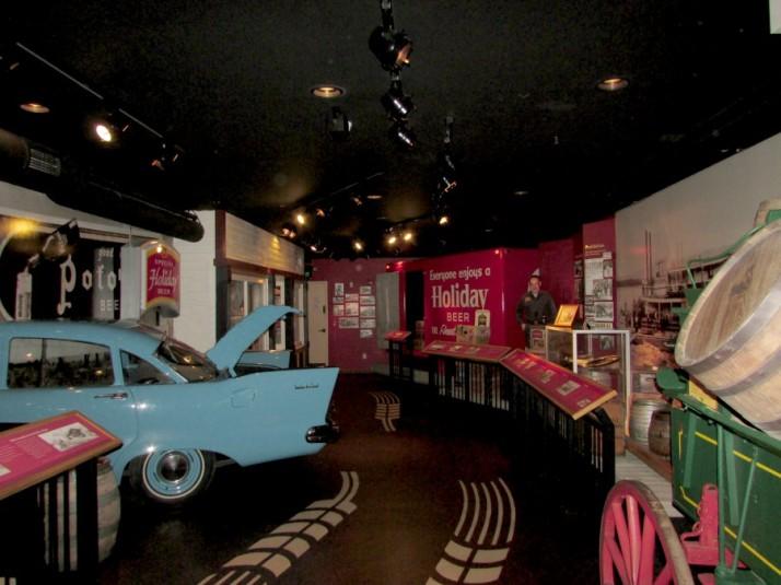 Potosi Museum displays