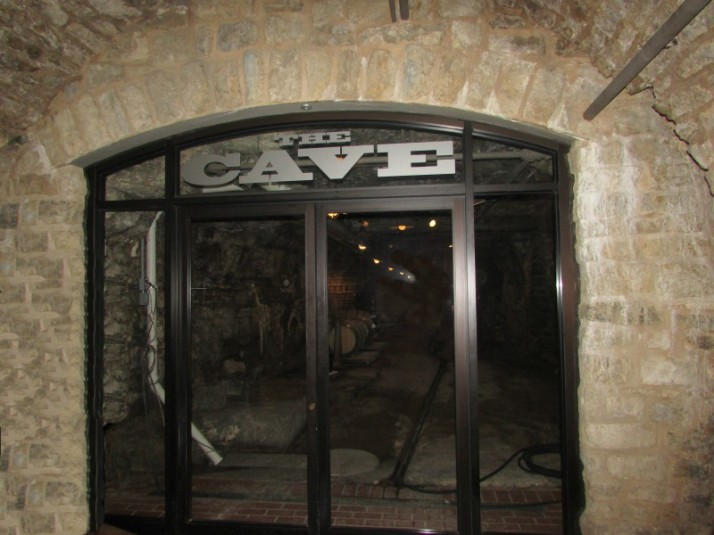 The Cave entrance in Potosi
