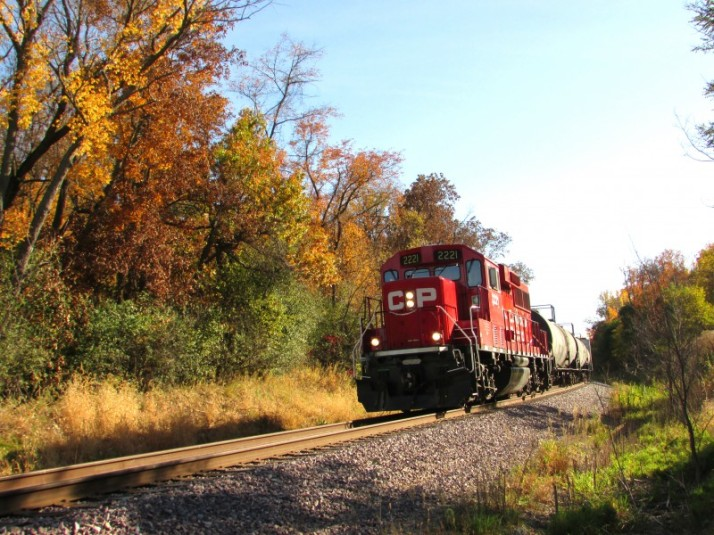 Fall Train CP to Portage