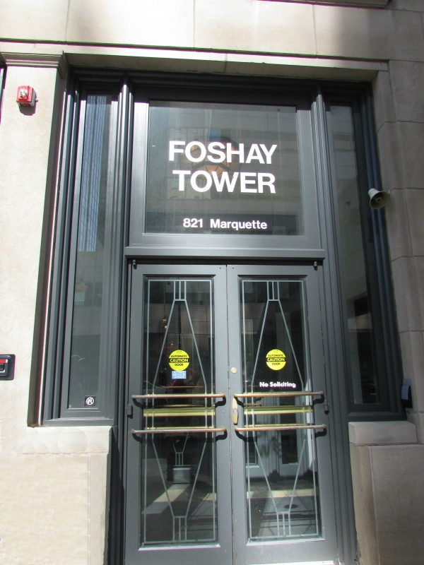 Foshay Tower entrance