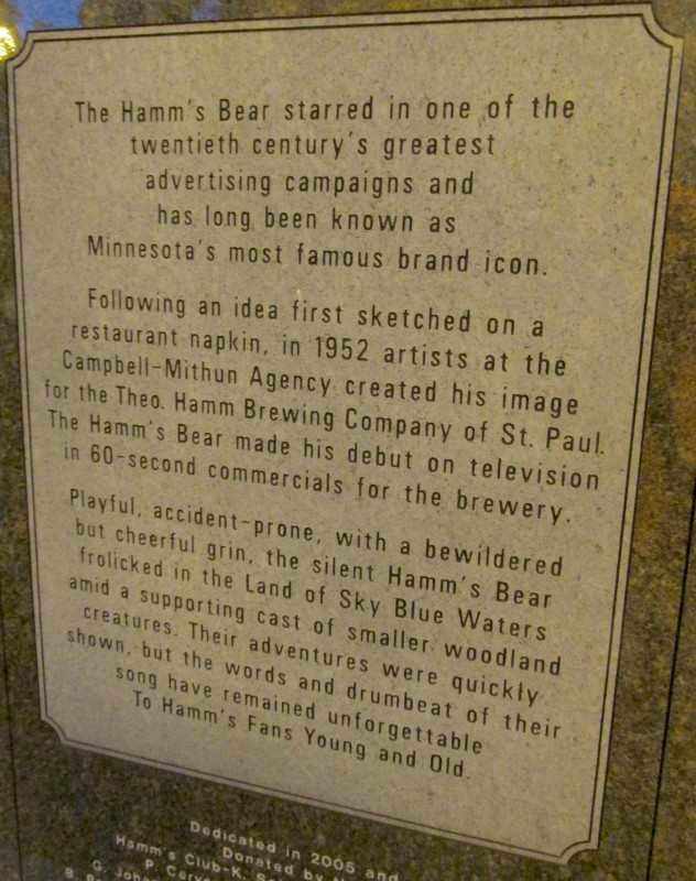 Hamm's Beer history