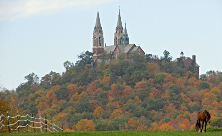 Holy Hill and Horse