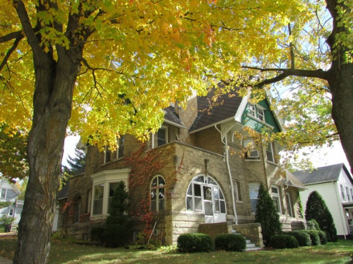 House with Yellow Tree in Jefferson