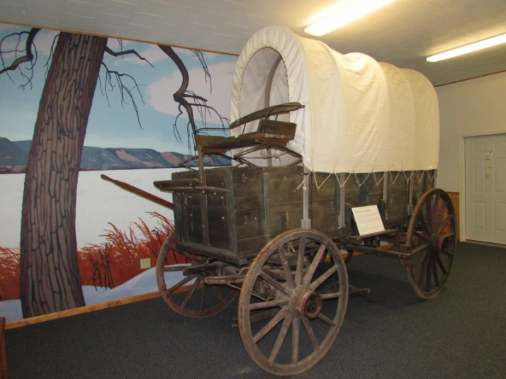 Covered Wagon at Laura Ingalls Wilder Museum