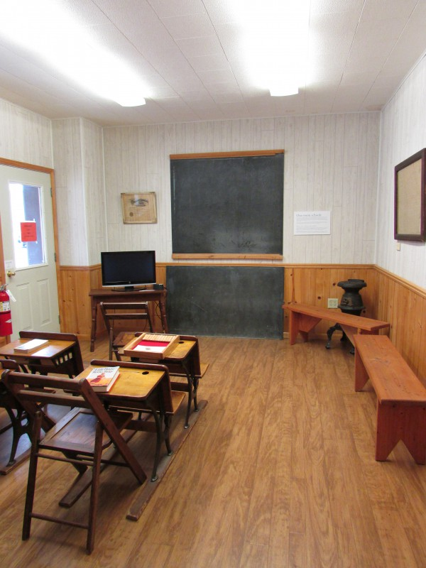 School room at Laura Ingalls Wilder museum