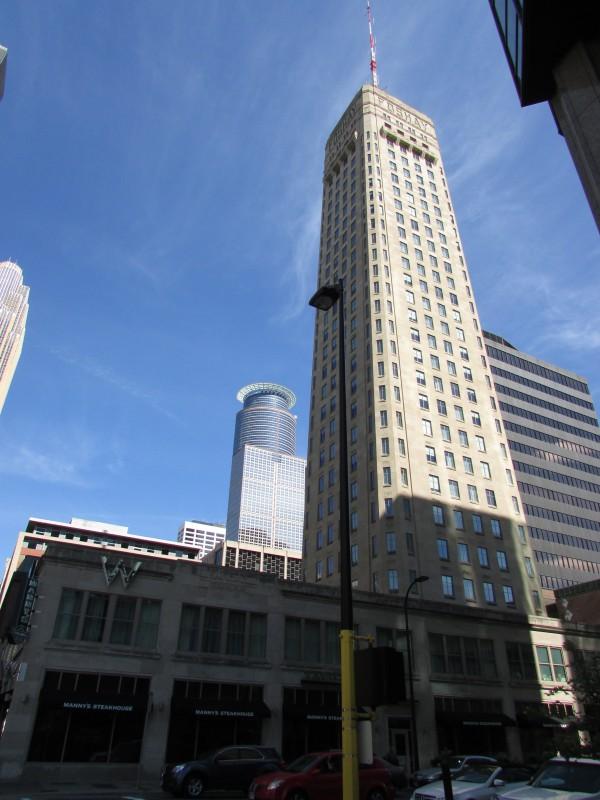 W MinneapolisThe FoshayFirst Skyscraper in Minnesota