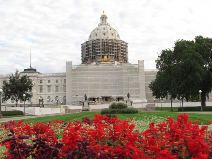 IMinnesota Capitol in St. Paul