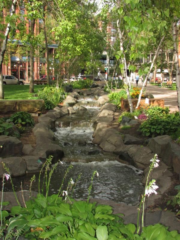 Mears Park brook