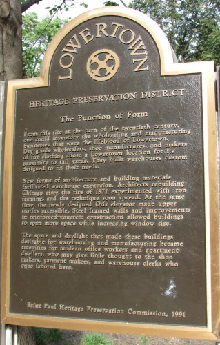 Lowertown function of Form marker
