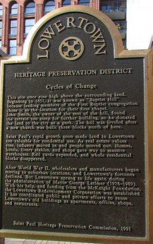 Lowertown History