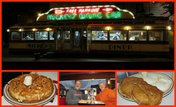 Mickey's Dining Car Collage
