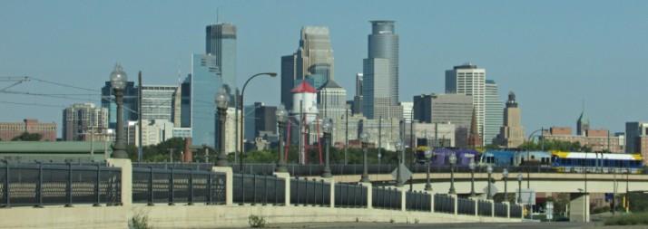 Minneapolis Skyline view
