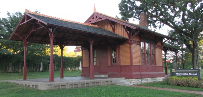 Minnehaha Depot in Minneapolis