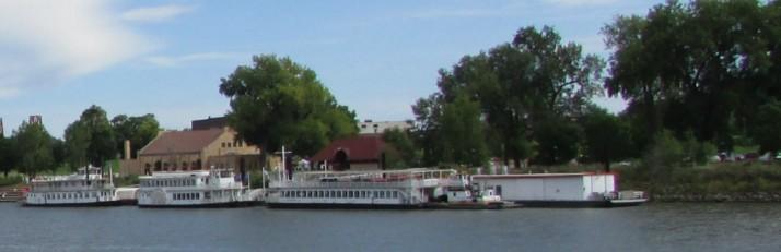 Padelford Boat Landing in St. Paul