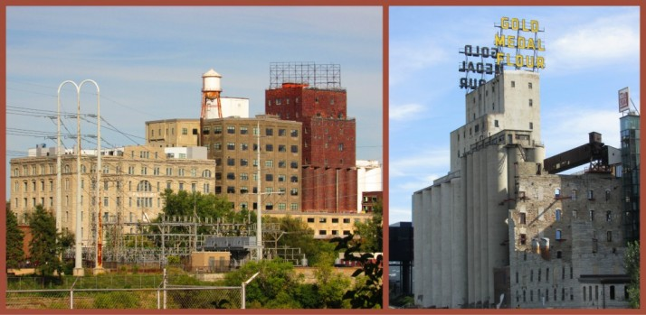 Pillsbury and Gold Medal Flour factories