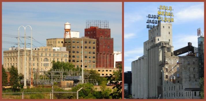 Pillsbury and Gold Medal Flour factories