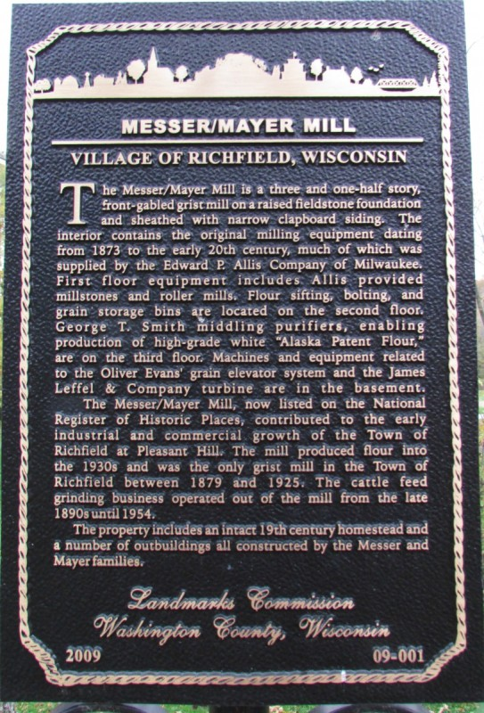Richfield Mill marker