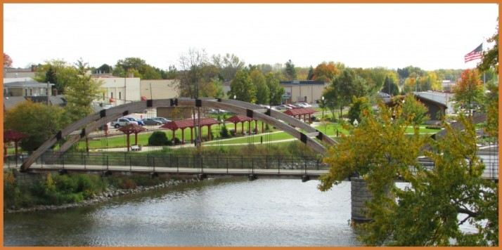 Rotary Park and Bridge in Jefferson