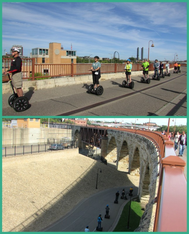 Segway Tour on St. Anthony Falls Heritage Trail