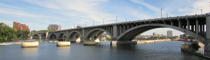 St. Anthony Falls and bridge