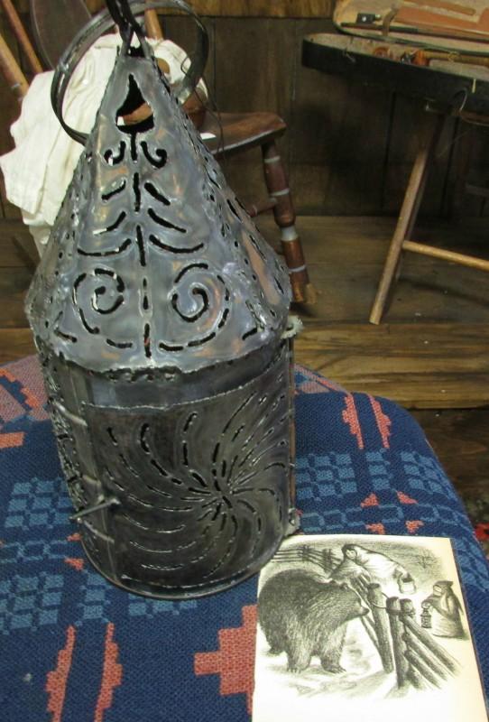 Tin lantern from Illustration