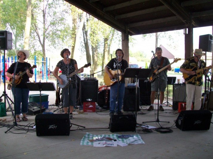 Staff Infection Band at Burke Picnic
