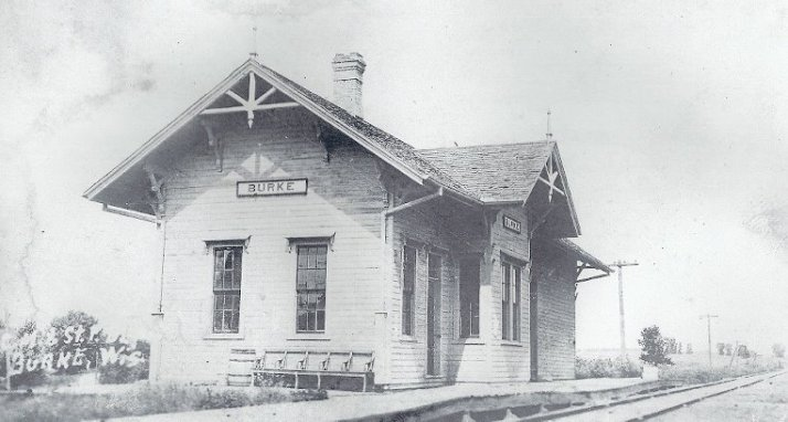 Burke Depot 1913