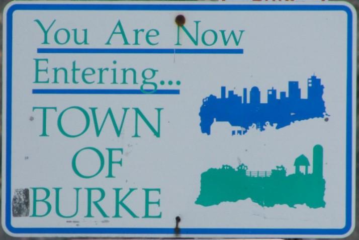 Burke sign