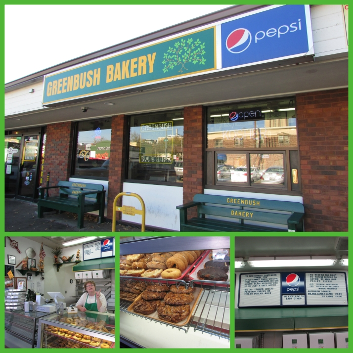 Greenbush Bakery collage
