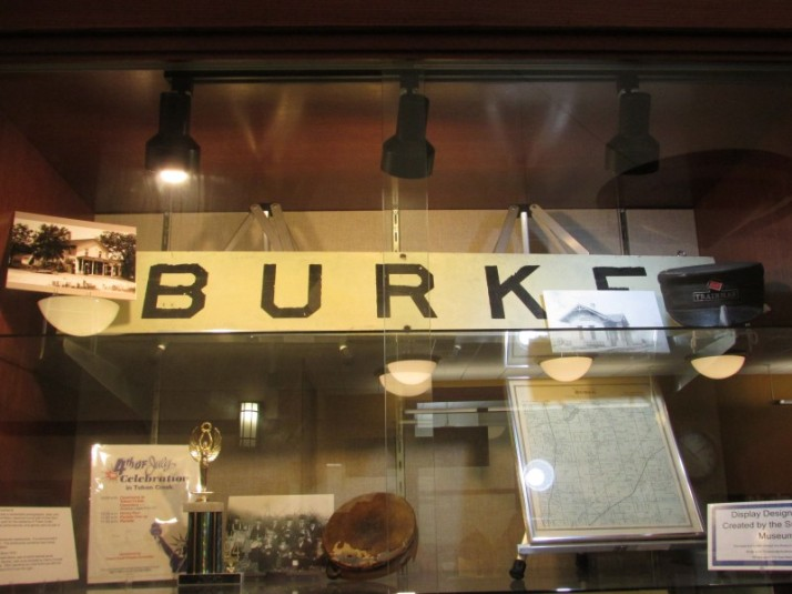 Burke Display at Sun Prairie Public Library