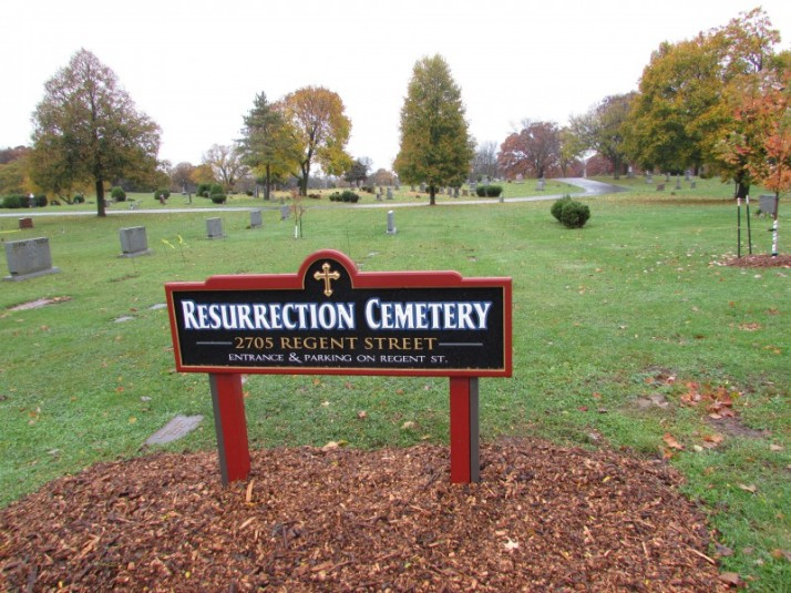 Resurrection Cemetery in Madison