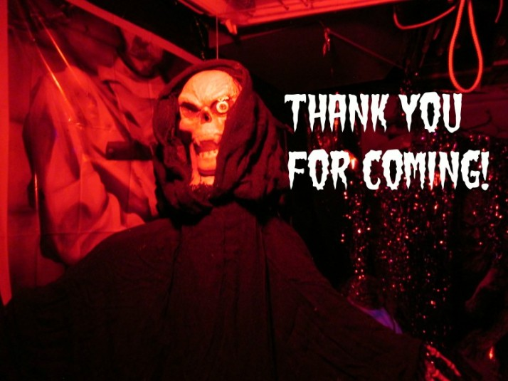 Thank You for Coming to the Haunted House