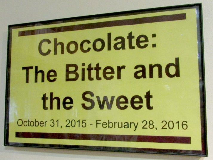 Chocolate Display sign IMG_8797