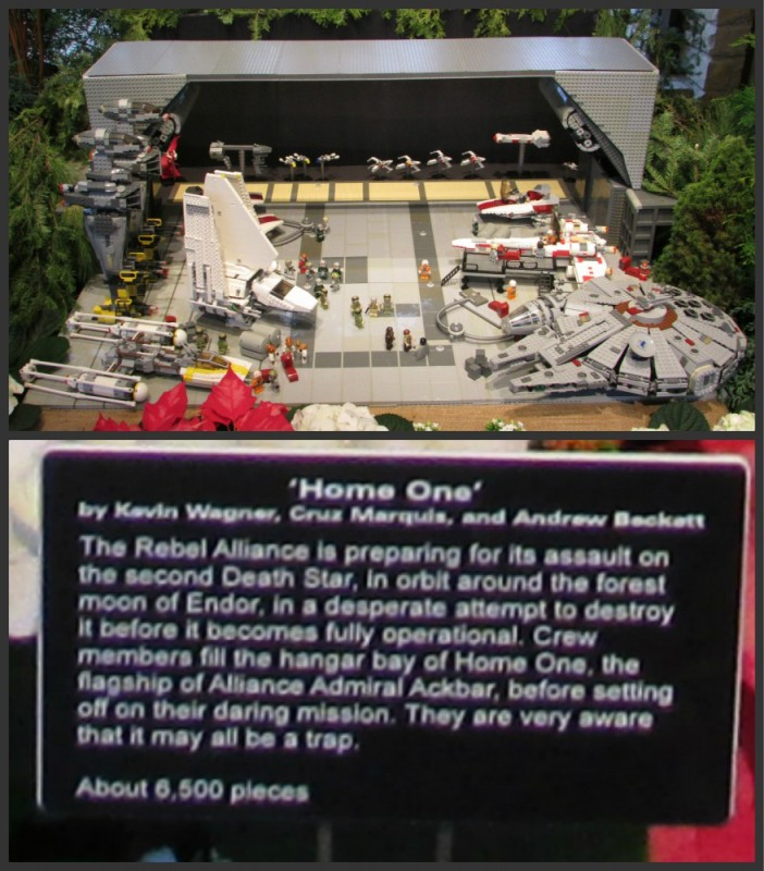 Home One Star Wars Display