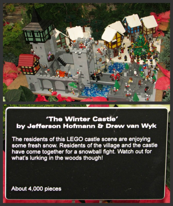 Winter Castle Display
