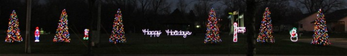 DeForest Holiday Lights all